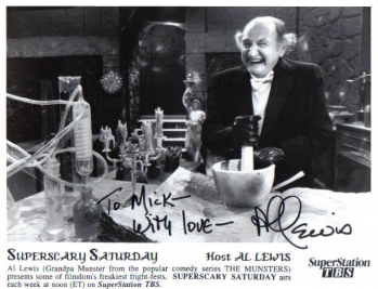 Al Lewis signed photo