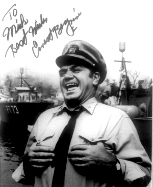 Ernest Borgnine signed photo