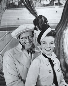 Phil Silvers and Nanette Fabray
