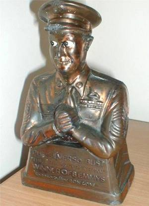 Phil Silvers Statue