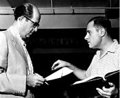 Aaron Ruben with Phil Silvers