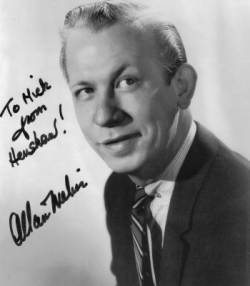 Allan Melvin signed photo
