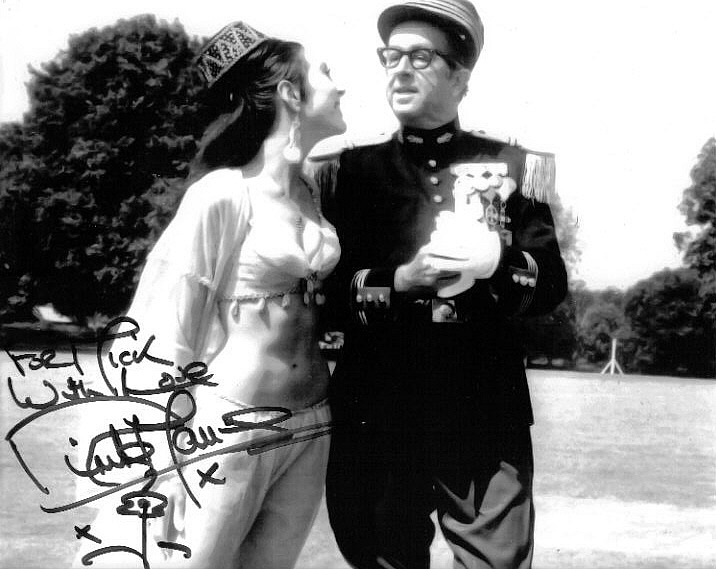 Anita Harris and Phil Silvers