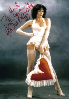 Martine Beswicke signed photo