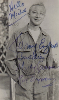 Mickey Freeman signed photo