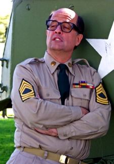 Mickey as Sgt.Bilko