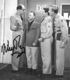 Mickey Rooney signed photo
