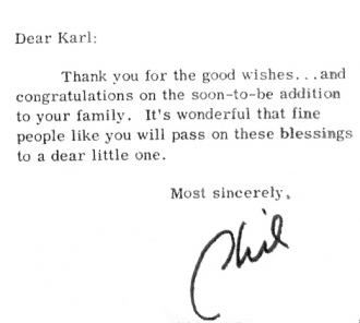 Phil's note to Karl Lukas